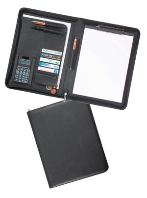 Schreibmappe mit Rechner