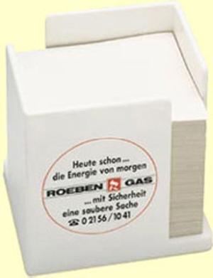 Kunststoff-Zettelbox